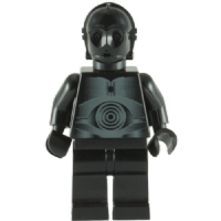 Lego Star Wars: Death Star Black Protocol Droid - Minifigure